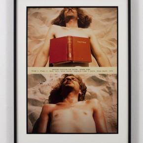 Dennis Oppenheim | Posición de lectura para una quemadura de Segundo Grado | 1970 | Cortesía del Artista y la Galería Thomas Salomon