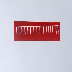 Rekiwë | 2013 | 39 x 56 cm | Grabado en goma dura | Edición de 10