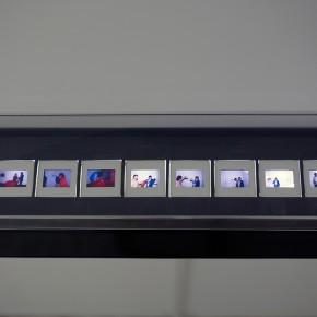 Vista en sala | Diego Barboza | Registro de la acción | Sala Mendoza, 1981 | 10 diapositivas
