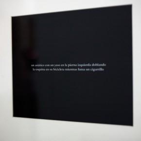 Vista en sala | Julian Higuerey |Un asiático con un yeso | 2010 | Fotografía | 8 x 10 '