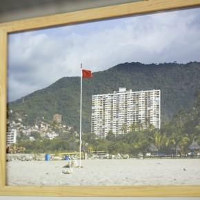 Vista en sala | Ana Alenso| La Guaira | 2013 |Inyección de tinta sobre papel de algodón | 30 x 40 cm c/u