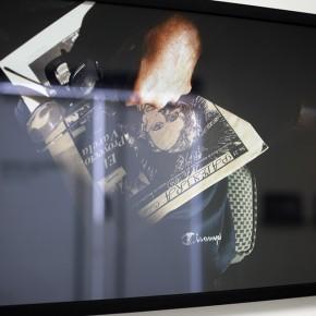 Vista en sala | Palestra Cívica| Serie Lecturas difíciles | 2009-2010 | Fotografía digital s/papel fotográfico Kodak Endura | 60 x 42 cm