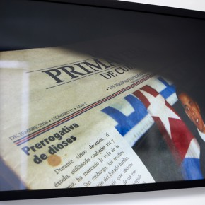 Vista en sala | Primavera de Cuba | Serie Lecturas difíciles | 2009-2010 | Fotografía digital s/papel fotográfico Kodak Endura | 60 x 42 cm