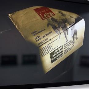 Vista en sala |Catálogo de Letras| Serie Lecturas difíciles | 2009-2010 | Fotografía digital s/papel fotográfico Kodak Endura | 60 x 42 cm