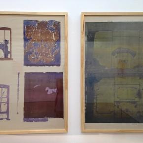 Gordon Matta-Clark | Walls paper |1972 (Reimpresión 2006) | Impresiones Offset en papel periódico | 2 piezas | 90 x 59 cm c/u