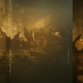 Rafael Serrano | Superposiciones. La revista Shell y la representacion | 2012-2014 | Imágenes superpuestas por proyección de diapositivas