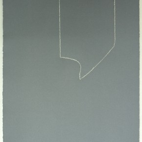 Piezas de archivo 13/14.4 II | 2014 | Dibujo costura / monotipo | 38 x 28 cm