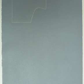 Piezas de archivo 19/14.3 | 2014 | Dibujo costura / monotipo | 38 x 28 cm