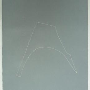 Piezas de archivo 5/14.3 | 2014 | Dibujo costura / monotipo | 38 x 28 cm