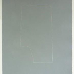 Piezas de archivo, 12 /14.2 II | 2014 | Dibujo costura / monotipo | 38 x 28 cm