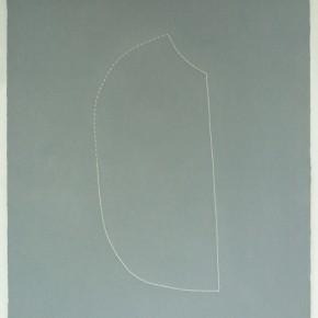 Piezas de archivo 20/14.3 | 2014 | Dibujo costura / monotipo | 38 x 28 cm
