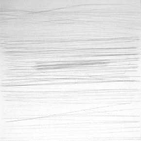 Caligramas # 2 | 2013| Dibujo con rodaja y papel grafito | 76,5 x 53,5 cm