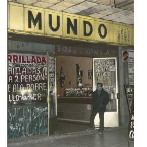 Leonora Vicuña | El Mundo, calle San Diego, Santiago de Chile | 1981 | Photomontage | 41,2 x 35,1 cm