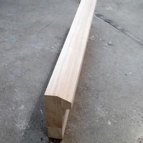 11. Uno extendido | 2014 | 3 pedazos de madera de cedro ensamblados | 20 x 8 x 92 cm