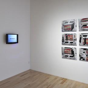 Regina Silveira (Izq.) | Damián Ortega (Der.) | Vista de exposición en Museo Amparo | Fotografía: Carlos Varillas