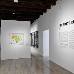 Claudio Perna | República de Venezuela-Mapa ecológico | Vista de exposición en Museo Amparo | Fotografía: Carlos Varillas