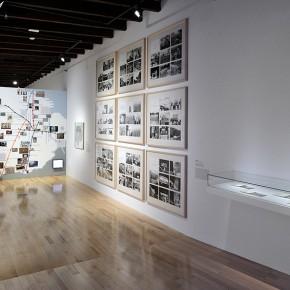 Jorge Macchi (Izq.) | Carlos Ginzburg (Der.) | Vista de exposición en Museo Amparo | Fotografía: Carlos Varillas