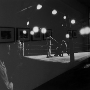 12. Sin título A2. De la serie Lucha demasiado libre | 1967-2014 | Tomada en el Palacio de Deportes de Caracas en 1967 | Primera copia 2014 | Edición de 3 + PA | Sales de plata sobre gelatina | 8 x 10'