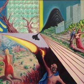 2. Fey Buc | 2013 | Óleo sobre tela |65 x 130 cm