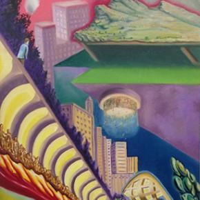 6a. Apocalipsis I | 2013 | Óleo sobre tela | 130 x 65 cm