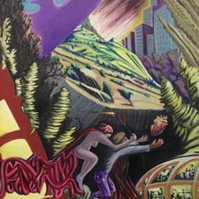 6c. Apocalipsis III | 2014 | Óleo sobre tela | 130 x 65 cm