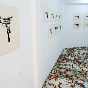Las armas no matan | 2011-2013 | Vista de sala | El Anexo Galería
