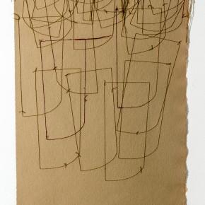 Plano Fertil|2014|Dibujo, costura|Leonardo Nieves