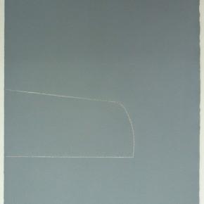 Leonardo Nieves | Piezas de archivo 13:14.4 I 2013 | Dibujo Costura / Monotipo | 38 x 28 cm