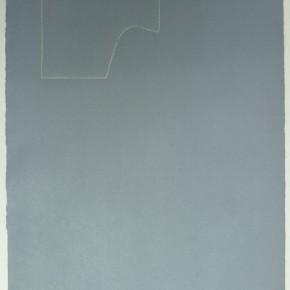 Leonardo Nieves | Piezas de archivo 19:14.3 | 2013 | Dibujo Costura / Monotipo | 38 x 28 cm