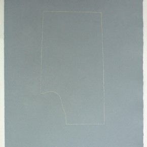 Leonardo Nieves | Piezas de archivo, 12 :14.2 | 2013 | Dibujo Costura / Monotipo | 38 x 28 cm