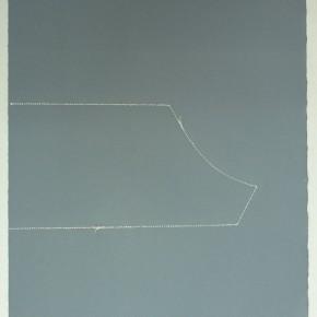 Leonardo Nieves | Piezas de archivo 10:14.4 | 2013 | Dibujo Costura / Monotipo | 38 x 28 cm