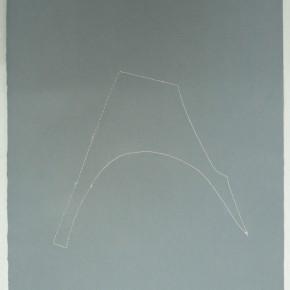 Leonardo Nieves | Piezas de archivo 5:14.3 | 2013 | Dibujo Costura / Monotipo | 38 x 28 cm