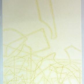 Leonardo Nieves | Estructuras 20:14.2 | 2014 | Monotipo | 56 x 38 cm