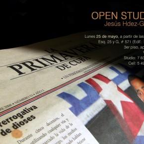 Jesús Hdez-Güero | Open Studio