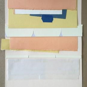 Leonardo Nieves | Carpetas Médicas II |2014 Collage | 33,5 x 24,5 cm