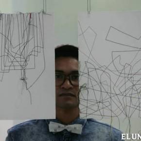 Leonardo Nieves construye urbes con puntadas de hilo
