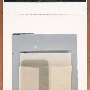 Leonardo Nieves | Carpetas médicas VI | 2015 | Collage | 24,5 x 33 cm |